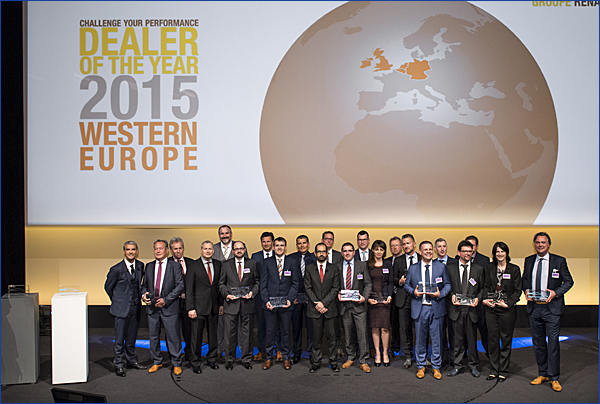 Preisverleihung zum Dealer of the Year 2015